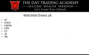 Watchlist Acciones USA Enero 26 2015