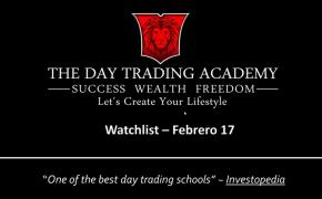 Watchlist Acciones USA Febrero 16 2015