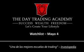 Watchlist Acciones USA Mayo 04 2015