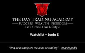 Watchlist Acciones USA Junio 08 2015