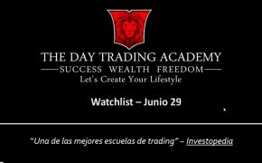 Watchlist Acciones USA Junio 29 2015