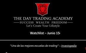 Watchlist Acciones USA Junio 15 2015
