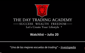 Watchlist Acciones USA Julio 20 2015