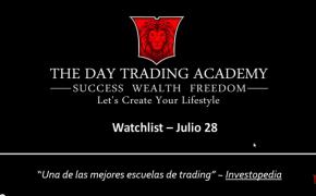 Watchlist Acciones USA Julio 27 2015