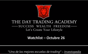 Watchlist Acciones USA Octubre 26 2015
