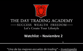Watchlist Acciones USA Noviembre 02 2015