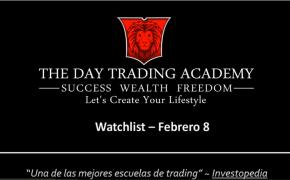 Watchlist Acciones USA Febrero 08 2016
