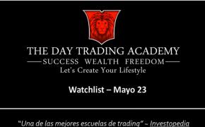 Watchlist Acciones USA Mayo 23 2016