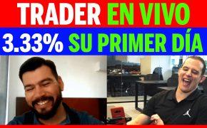 Trader de Bolivia - 3.33% En vivo su primer día